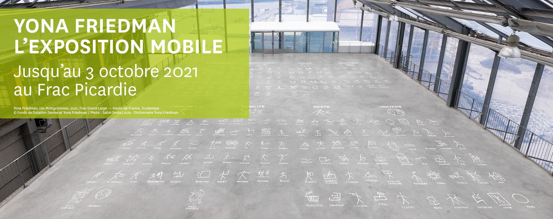 Yona Friedman, l'exposition mobile